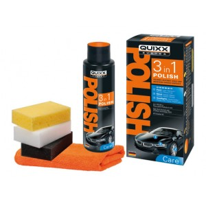 Quixx-Polish 3 in 1 Kit specifico per la lucidatura di carrozzeria