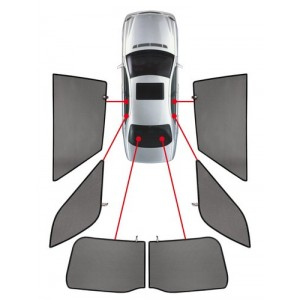 TENDINE PRIVACY PARASOLE Peugeot 206 sw (9/02-6/07)